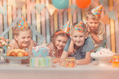 Aniversário Fotografia de Stock Royalty Free