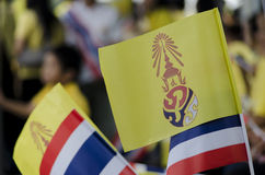 Aniversário da celebração do rei Thailand Imagens de Stock Royalty Free