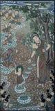 Aniversário da pintura de buddha no templo de Coreia Fotos de Stock Royalty Free