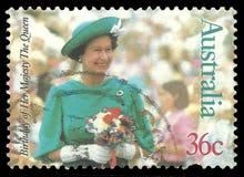 Aniversário da rainha Elizabeth ilustração stock