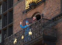 Aniversário da rainha Margarethe de Denmarks 70th Fotografia de Stock Royalty Free
