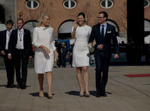 Aniversário da rainha Margarethe de Denmarks 70th Imagens de Stock Royalty Free