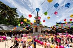 Aniversário das Budas Foto de Stock