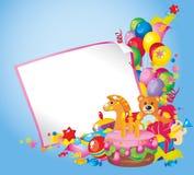 Aniversário das crianças Foto de Stock Royalty Free