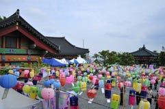 Aniversário de Buddha Imagem de Stock