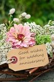 Aniversário de casamento imagem de stock
