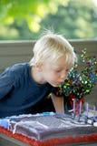 Aniversário de Little Boy Imagem de Stock Royalty Free