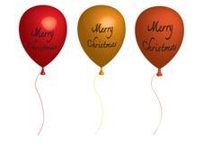 Aniversário do balão da arte da ilustração do balão 3D Foto de Stock Royalty Free