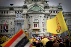 Aniversário do rei tailandês o 85th Fotos de Stock Royalty Free