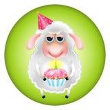 Aniversário dos carneiros Foto de Stock Royalty Free