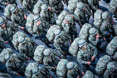 Aniversário real malaio do exército 80th Imagens de Stock