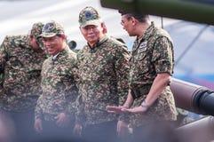 Aniversário real malaio do exército 80th Fotografia de Stock