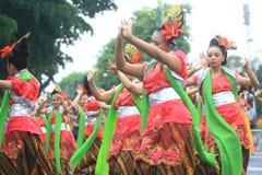 Aniversário Sragen da cidade do carnaval Fotos de Stock