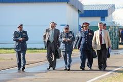 aniversario 100 de la fuerza aérea rusa Foto de archivo libre de regalías