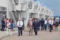 aniversario 100 de la fuerza aérea rusa Imágenes de archivo libres de regalías