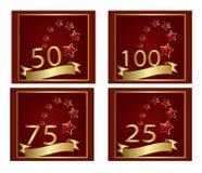 Aniversario Fotografía de archivo libre de regalías