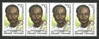 Aniversario de Kwame Nkrumah Imágenes de archivo libres de regalías
