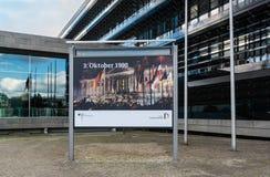 Aniversario de la reunión alemana Imagen de archivo libre de regalías