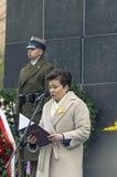 Aniversario de la sublevación del ghetto de Varsovia Imagenes de archivo