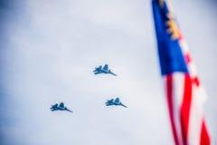Aniversario real malasio del ejército 80.o Foto de archivo libre de regalías