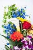 Aniversary-Blumenstrauß Stockfotografie