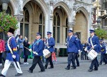 Aniversary of Independance parade Royalty Free Stock Photo