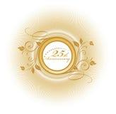 aniversário 25 Fotografia de Stock