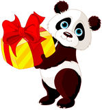 Aniversário de Panda's Fotografia de Stock