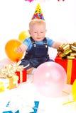 Aniversário do bebê Fotos de Stock Royalty Free