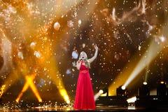 Anja Nissen od Dani Eurowizyjny 2017 Fotografia Royalty Free