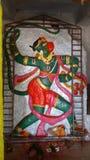 Anjaneya swami royaltyfri bild