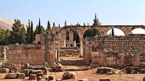 Anjar, Lebanon royalty free stock photography