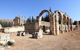 Anjar, Libanon stock afbeeldingen