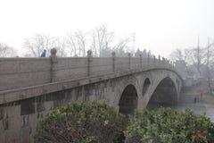 Anji Brige Zhaozhou Bridge Royaltyfri Fotografi