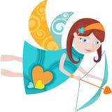 Anjo ilustração stock