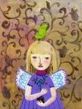 Anjo imagem de stock