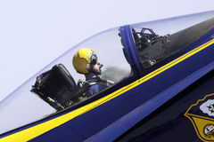 Anjo azul Foto de Stock
