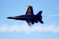 Anjo azul Foto de Stock Royalty Free