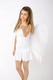 Anjo bonito 2 imagens de stock