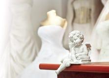 Anjo branco Imagem de Stock