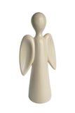 Anjo branco do chocolate do Natal Fotos de Stock Royalty Free