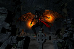Anjo caído Imagem de Stock Royalty Free