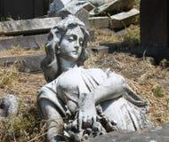 Anjo caído Fotografia de Stock