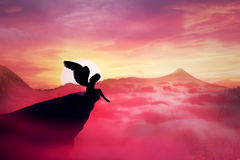 Anjo caído Foto de Stock Royalty Free