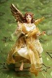 Anjo cintilante do Natal Imagem de Stock Royalty Free