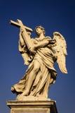 Anjo com a cruz Imagens de Stock Royalty Free