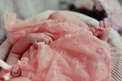 Anjo cor-de-rosa Imagem de Stock Royalty Free