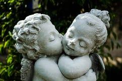 Anjo da escultura Imagem de Stock