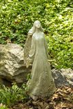 Anjo da flor Imagem de Stock