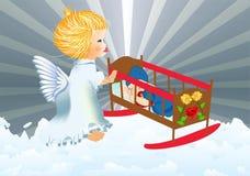 Anjo da guarda Fotografia de Stock Royalty Free